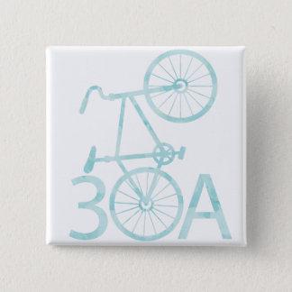 Pin's Aquarelle 30A avec le bouton de vélo