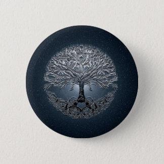 Pin's Arbre de bleu de nova de la vie