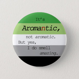 Pin's Aromantic/Pin aromatique