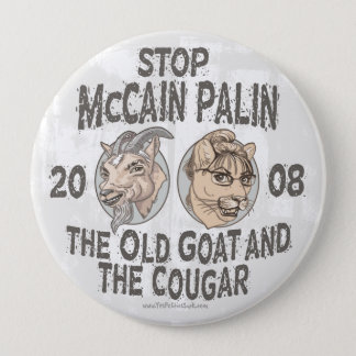 Pin's Arrêtez McCain Palin 2008