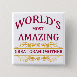 Pin's Arrière grand-mère extraordinaire