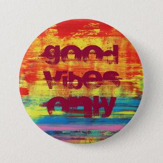 """Pin's Art abstrait coloré ensoleillé de """"bon vibraphone"""