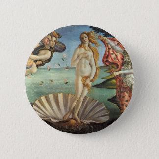 Pin's Art de Renaissance, la naissance de Vénus par