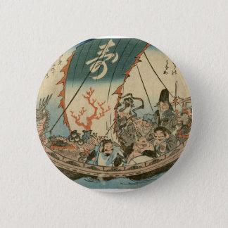 Pin's Art d'Ukiyoe de Japonais (hiroshide Utagawa)