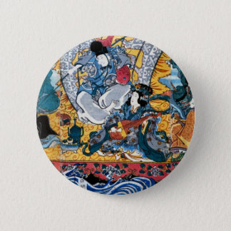 Pin's Art d'Ukiyoe de Japonais (utagawa de kunisada)