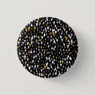 Pin's Art moderne de triangle - or noir
