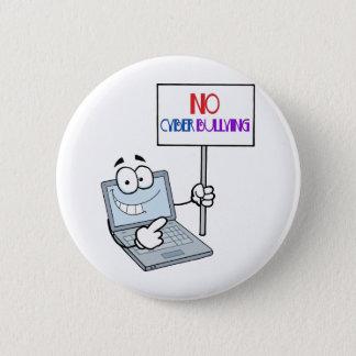 Pin's Aucun ordinateur de intimidation de Cyber