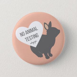 Pin's Aucune expérimentation animale