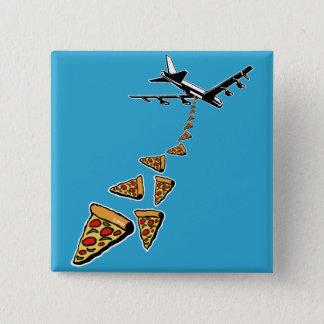 Pin's Aucune guerre plus de pizza