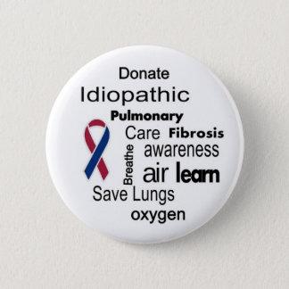 Pin's Augmentez la conscience idiopathique de fibrose