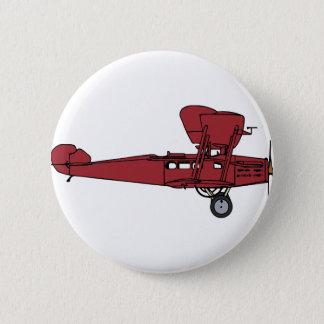 Pin's Avion rouge
