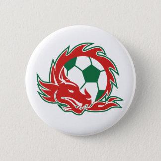 Pin's Ballon de football de dragon de Gallois