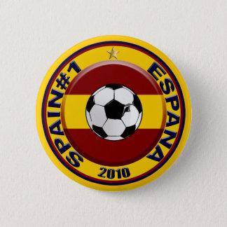 Pin's Ballon de football du numéro 1 du football de