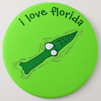 Pin's bande dessinée drôle de la Floride d'amour de
