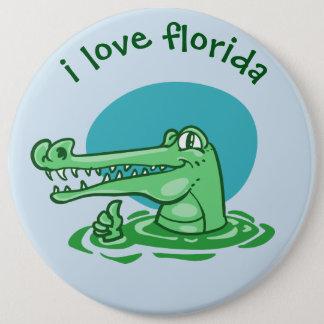 Pin's bande dessinée drôle de la Floride d'amour du