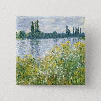 Pin's Banques de Claude Monet | de la Seine, Vetheuil,