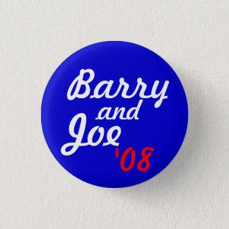Pin's Barry et Joe '08 - customisé