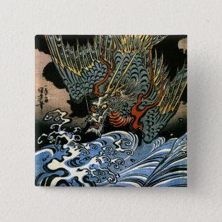 Pin's Beaux-arts de Japonais de Kuniyoshi d'esprit de