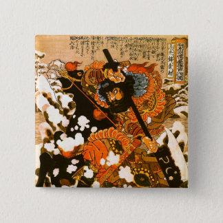 Pin's Beaux-arts noirs de Kuniyoshi d'étalon de Kyusempo