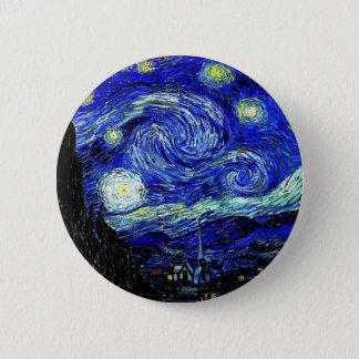 Pin's beaux-arts vVan de nuit étoilée de Gogh