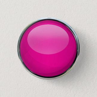 Pin's Boule en verre rose