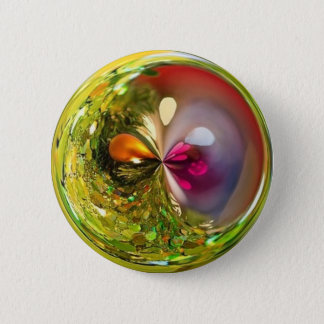 Pin's boule verte