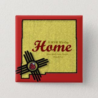 """Pin's Bouton """"à la maison"""" de NMSU Wesley"""