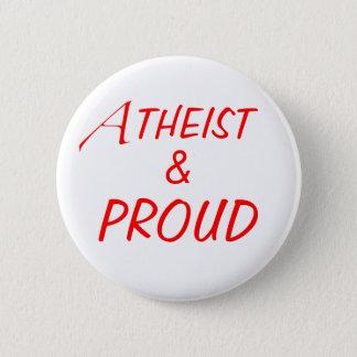 Pin's Bouton athée et fier