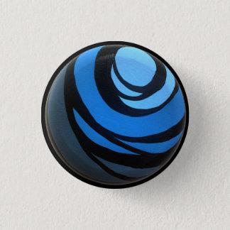 Pin's Bouton bleu de Chakra
