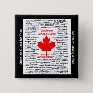 Pin's Bouton Canada150