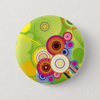 Pin's Bouton coloré
