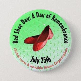 Pin's Bouton commémoratif de la maladie de Lyme de jour