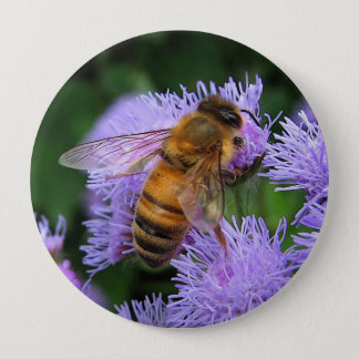 Pin's Bouton d'abeille de miel