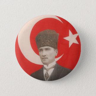 Pin's Bouton d'Ataturk
