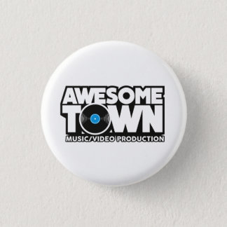 Pin's Bouton d'Awesometown