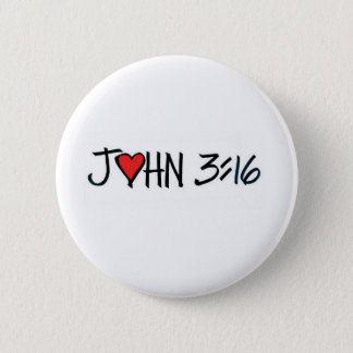 Pin's Bouton de 3h16 de John