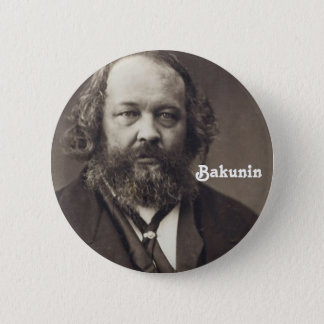 Pin's Bouton de Bakunin 2