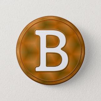 Pin's Bouton de Bitcoin