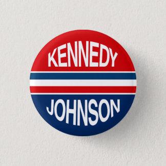 Pin's Bouton de campagne de Kennedy Johnson 1960