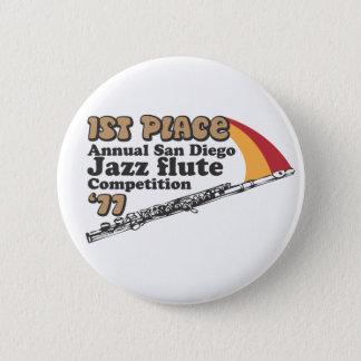 Pin's Bouton de cannelure de jazz