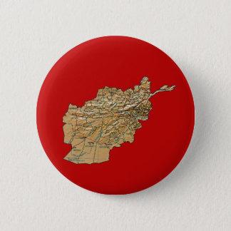 Pin's Bouton de carte de l'Afghanistan