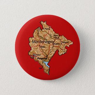 Pin's Bouton de carte de Monténégro