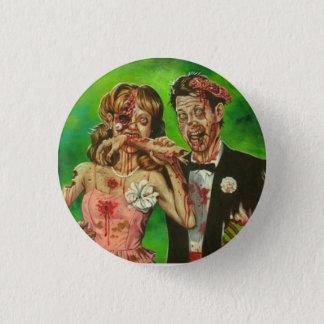 Pin's Bouton de couples de zombi