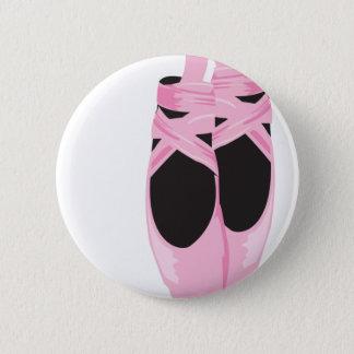 Pin's Bouton de danse de rose de ballerine de KRW