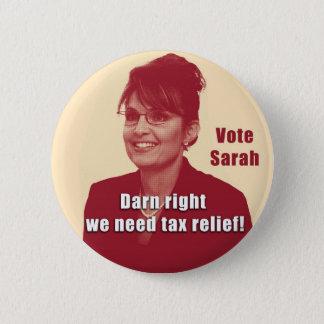 Pin's Bouton de discussion de Sarah