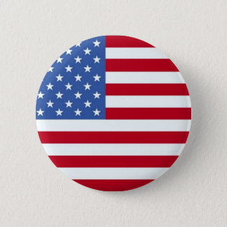 Pin's Bouton de drapeau américain