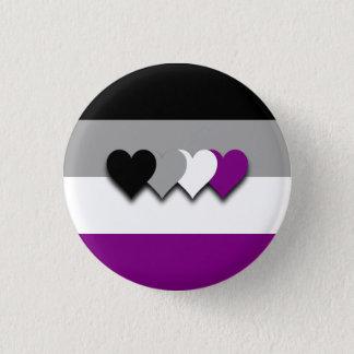Pin's Bouton de drapeau d'Asexuality