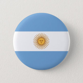Pin's Bouton de drapeau de l'Argentine