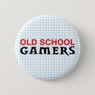 Pin's Bouton de Gamers de vieille école