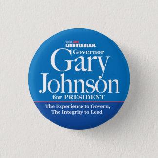 Pin's Bouton de Gary Johnson